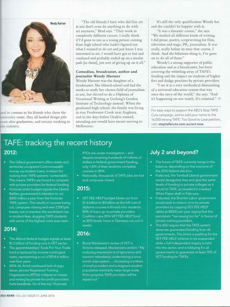 aeu news feature tafe page 3