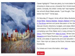 Illustrators Australia interview with Annie White