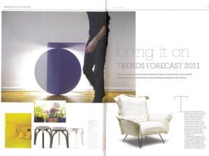 design quarterly trend forecast feature page 2-9