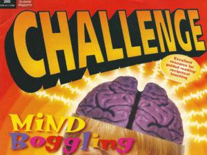 challenge magazine cover