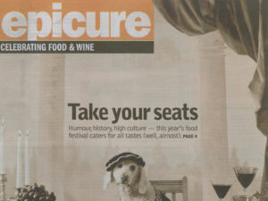 editorial epicure food festival feature cover