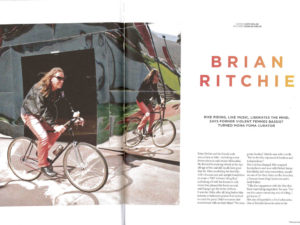 editorial treadlie feature MONA's brian ritchie