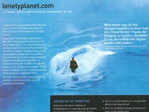 lonely planet catalogue page 1