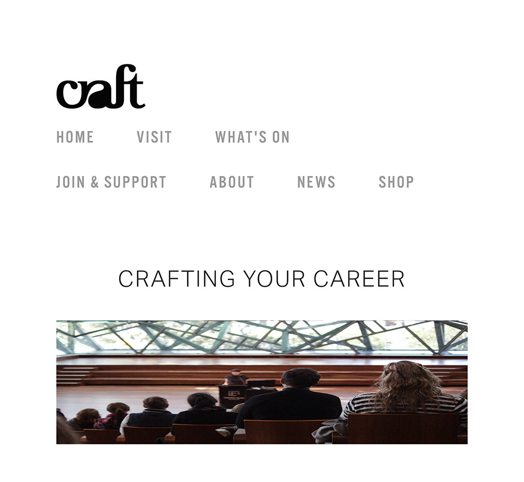 CRAFTING YOUR CAREER BY KATH DOLAN — Craft-1