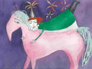 Kath Dolan Big Night illustration