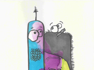 Kath Dolan odd bods illustration
